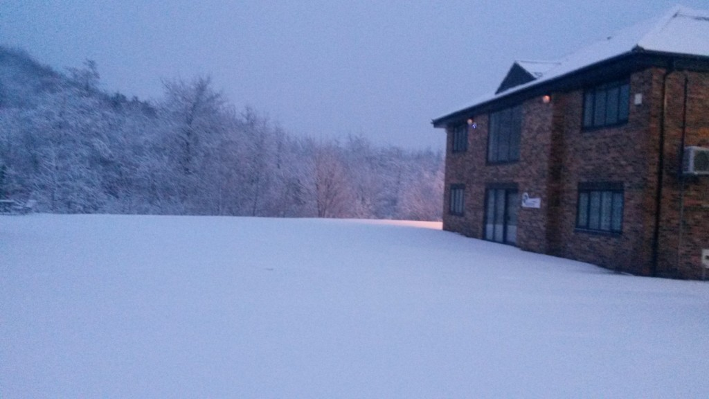 Lifetime snowy scene