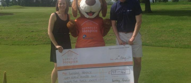 Barnsley Hospice the beneficiary of another Lifetime referral scheme cheque