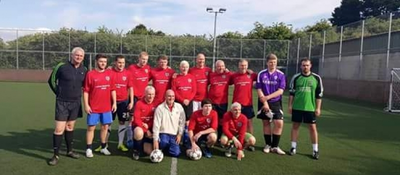 Reed all about it! Lifetime run out of steam in football clash with neighbours!