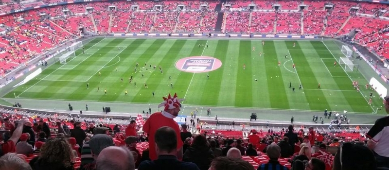 Lifetimers enjoy their Wembley day!