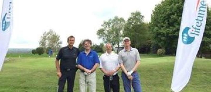 Lifetime-sponsored charity golf day raises £6,000 for Barnsley Hospice