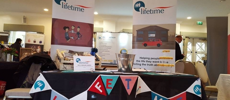 Lifetime enjoy 'sweet success' and plenty of chat at Yorkshire Business Festival!