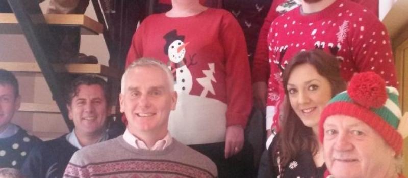Lifetime get into festive spirit on Christmas Jumper Day – and raise money for Barnsley Hospice