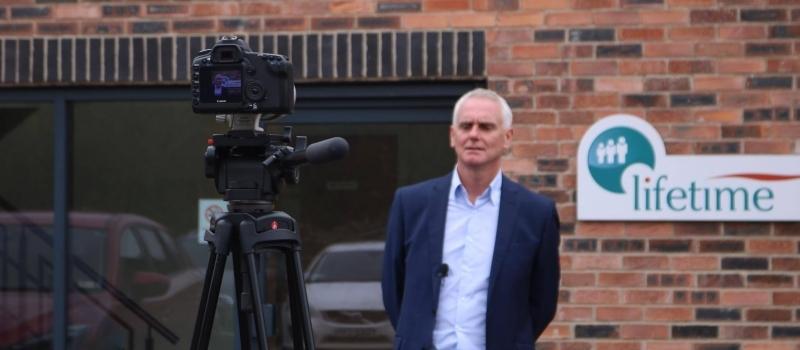 MD Ian Dickinson is Lifetime video star!