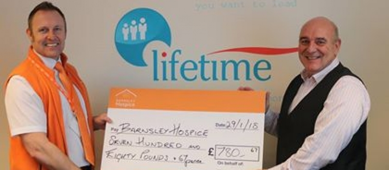 Barnsley Hospice fundraising boosted by Lifetime referral scheme
