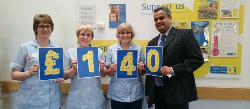 Yorkshire hospices cashing in on visits from Lifetime financial planners!