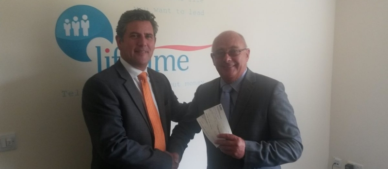 Three more Lifetime cheques for Barnsley Hospice