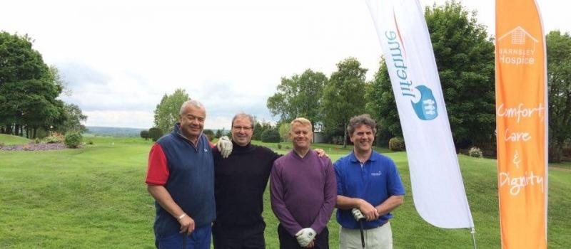 Lifetime-sponsored charity golf day raises smiles – and plenty of cash – for Barnsley Hospice