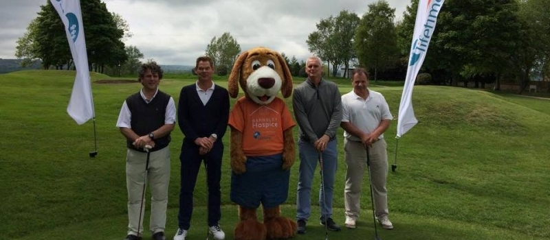 A pictorial take on the 2015 Lifetime-sponsored Barnsley Hospice golf day