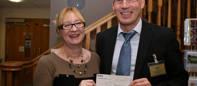 Scarborough-based St Catherine's hospice thrilled to receive another Lifetime cheque