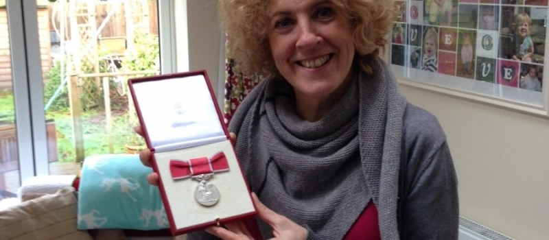Lifetime client who set up 'Fitmums and Friends' venture proud to have received British Empire Medal