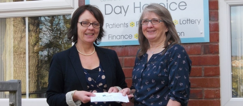 Margaret helps Lifetime show 'personal touch' by delivering referral scheme cheque