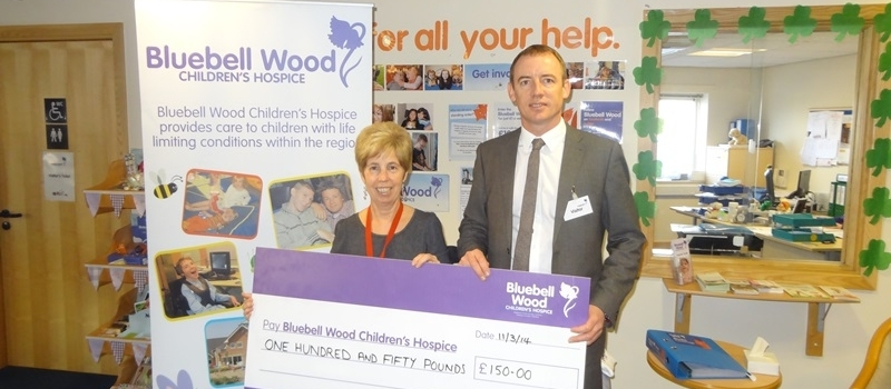 Bluebell Wood Children's Hospice the latest beneficiary of Lifetime referral scheme