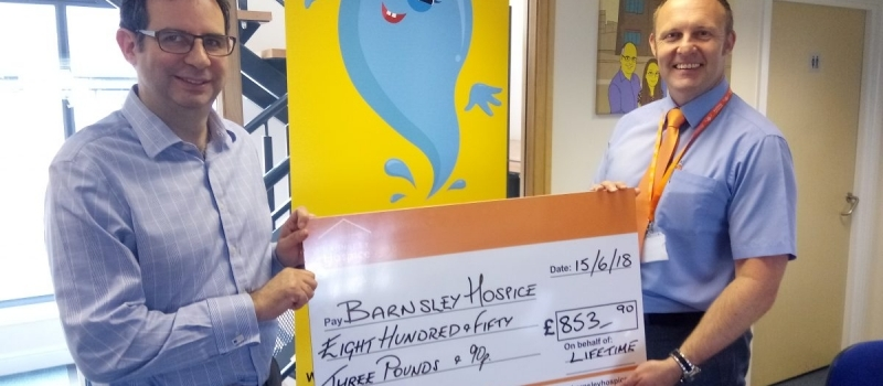 Lifetime referral scheme generates more cash for Barnsley Hospice
